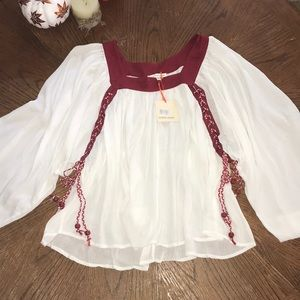 Flowy Blouse with Tie detail